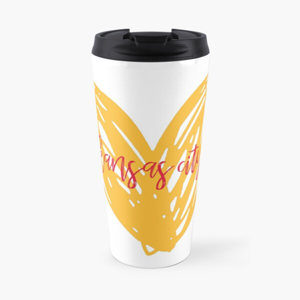 kansas city heart Travel Mug