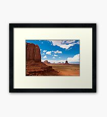 Monument Valley 1 Framed Print