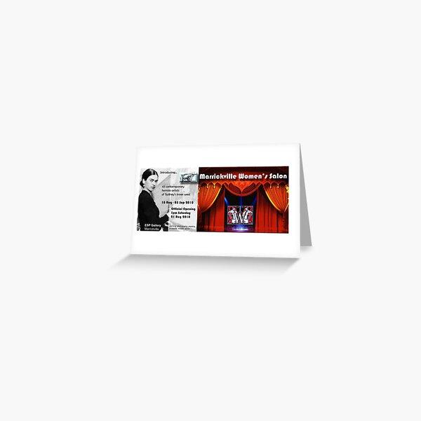 Marrickville Women's Salon Greeting Card