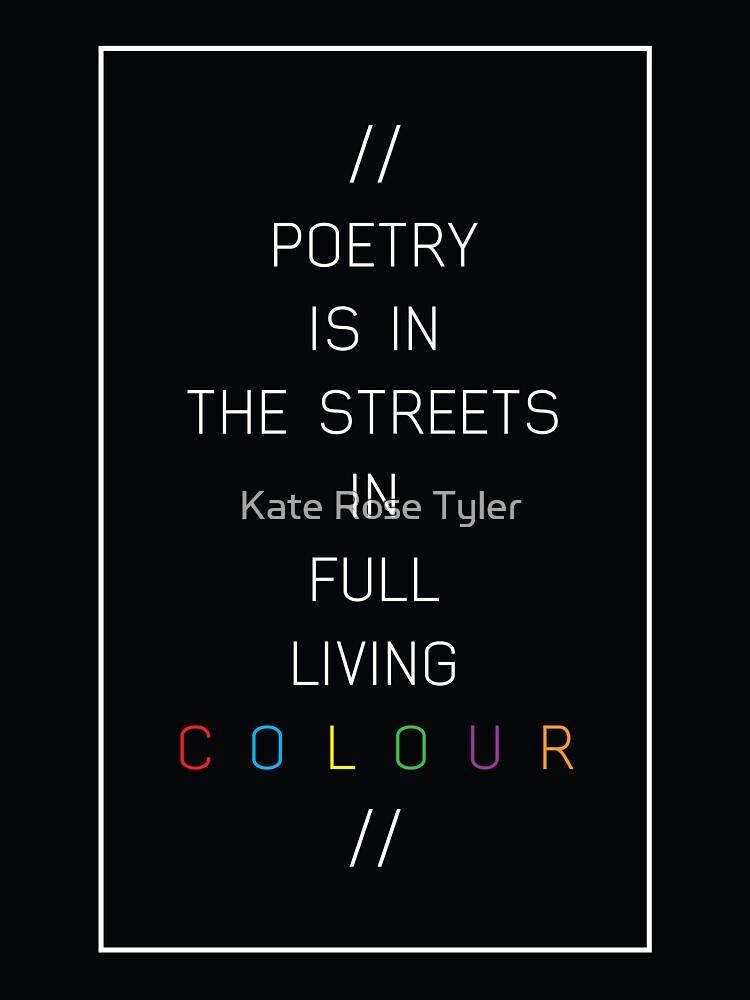 poesía en las calles de kateroseaustin