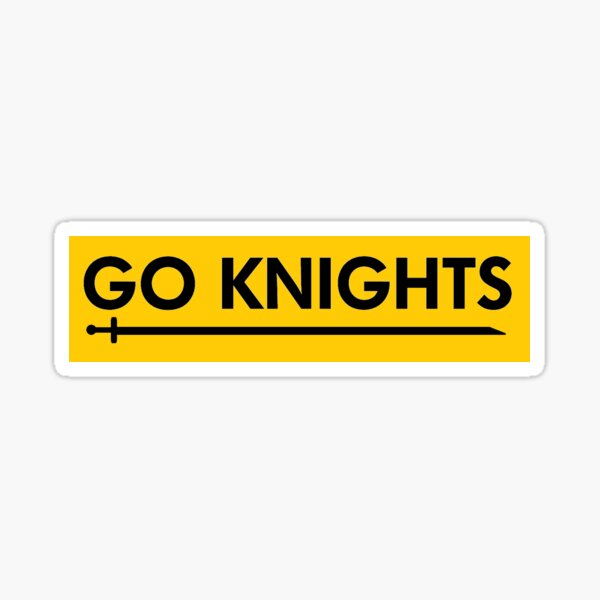 UCF Go Knights Sticker Sticker