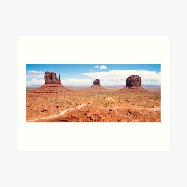 Monument Valley 3 Art Print