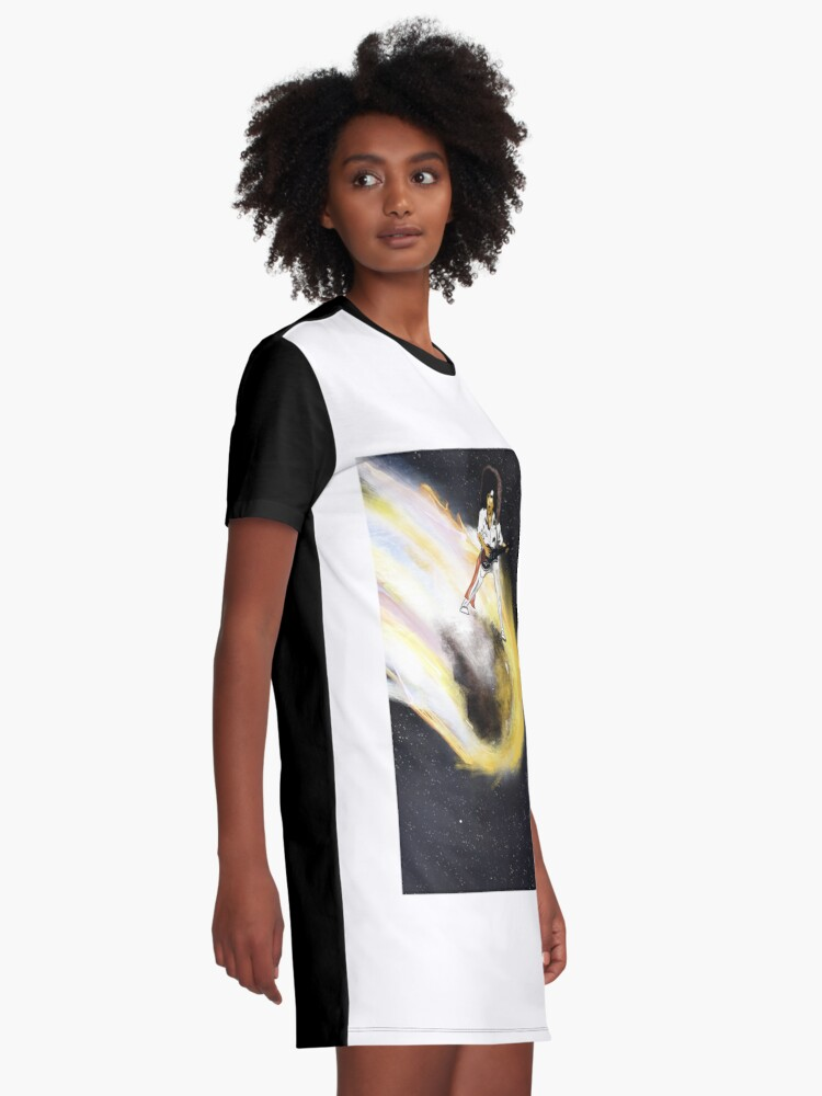 Alternate view of Asteroid day Graphic T-Shirt Dress