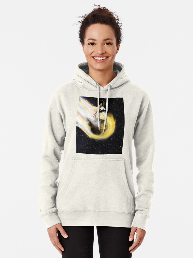 Alternate view of Asteroid day Pullover Hoodie