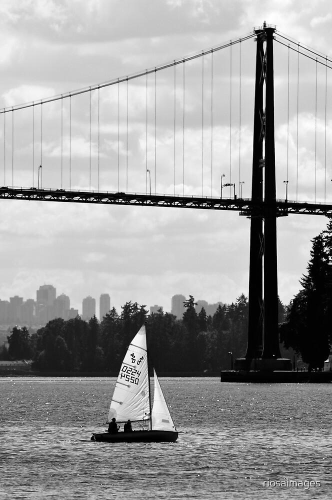 Urban Sailing by riosaimages