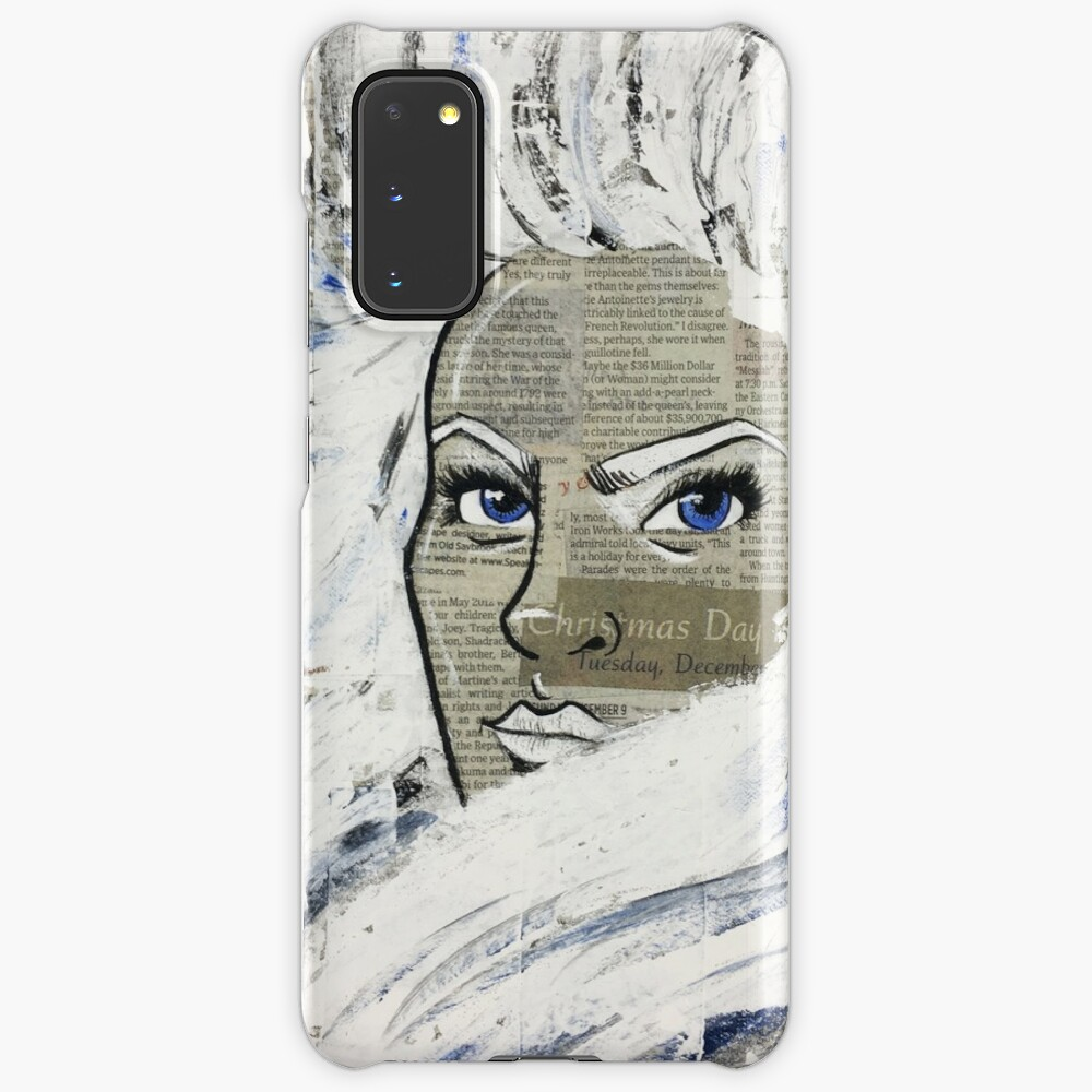 Snow Queen | Acrylic Art Print Case & Skin for Samsung Galaxy
