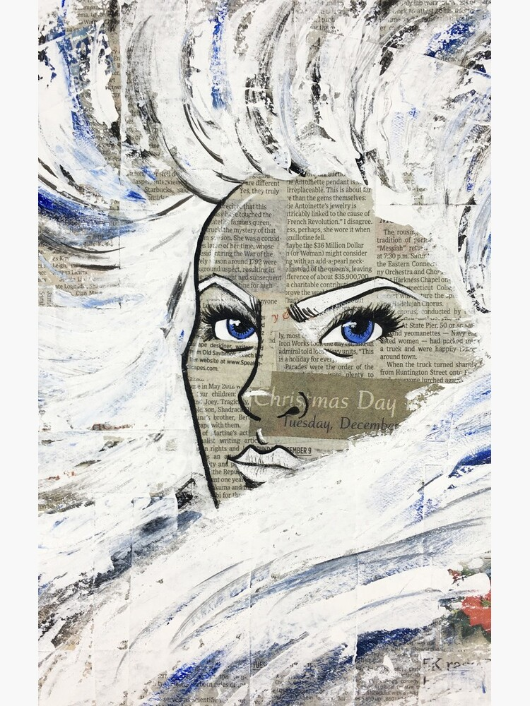 Snow Queen | Acrylic Art Print by twistedpainter