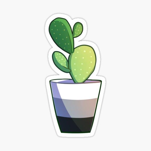 Aro cacti Sticker