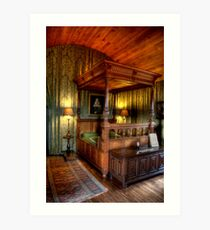 The Queen's Room, Falkland Palace Art Print