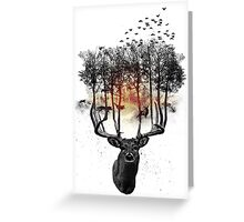 Ashes to ashes. Greeting Card