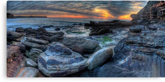 We Will Rock You - Warriewood  Headland, Sydney (30 Exposure HDR Panoramic) - The HDR Experience by Philip Johnson