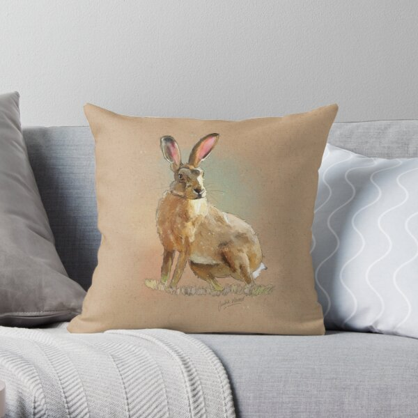 Hare-A3 Craft (PCD3048) Throw Pillow