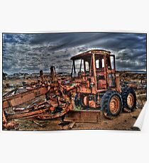 Dead Tractor Poster