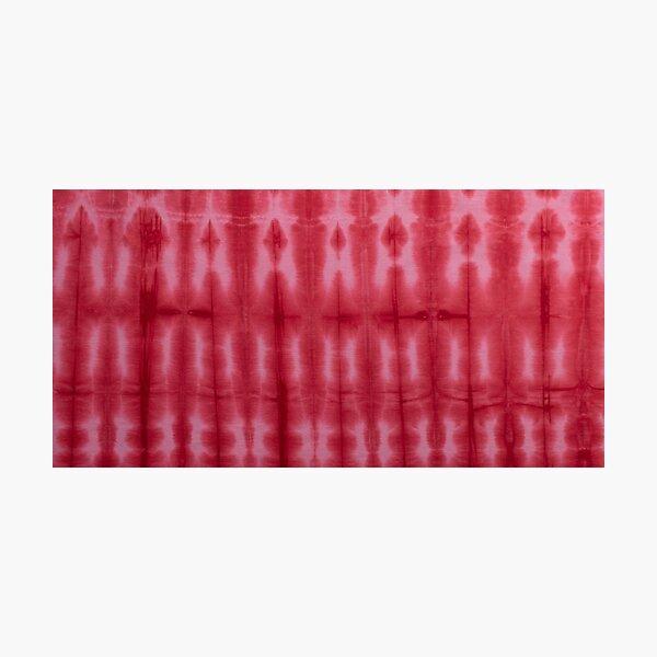 SKU595 Shibori Style - Red 2 Photographic Print