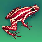 Phantasmal Poison Frog by Tami Wicinas