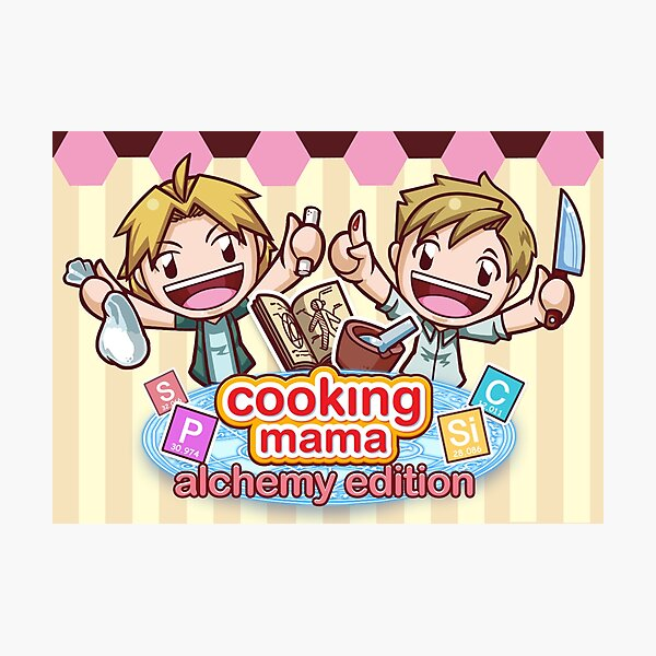 Cooking Mama - Alchemy Edition Photographic Print