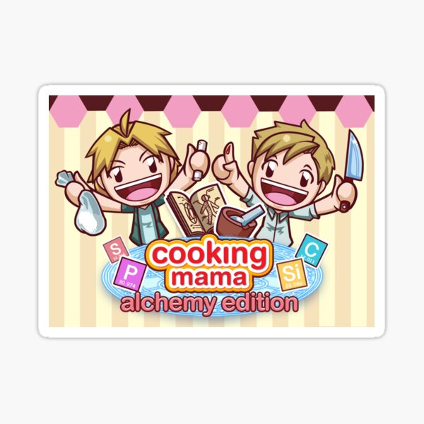 Cooking Mama - Alchemy Edition Sticker