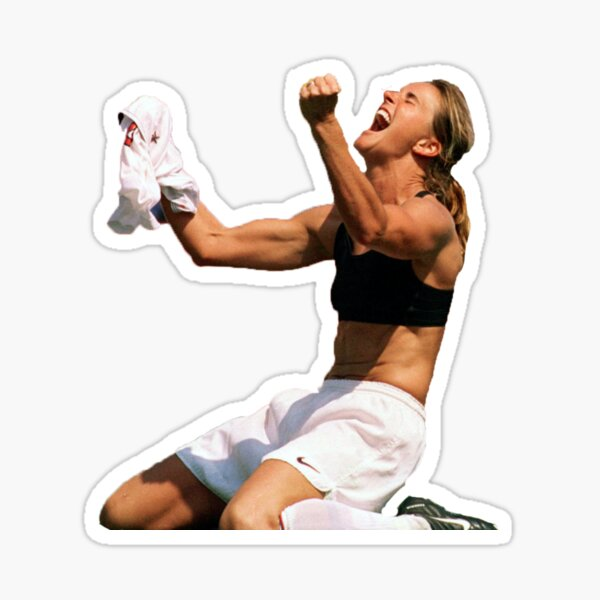 U.S Womens National Team: Brandi Chastain Sticker