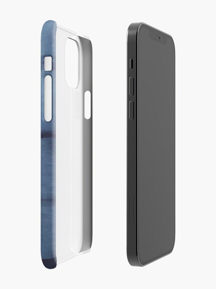 Alternate view of SKU546 Shibori Style - Blue Denim 2 iPhone Case & Cover