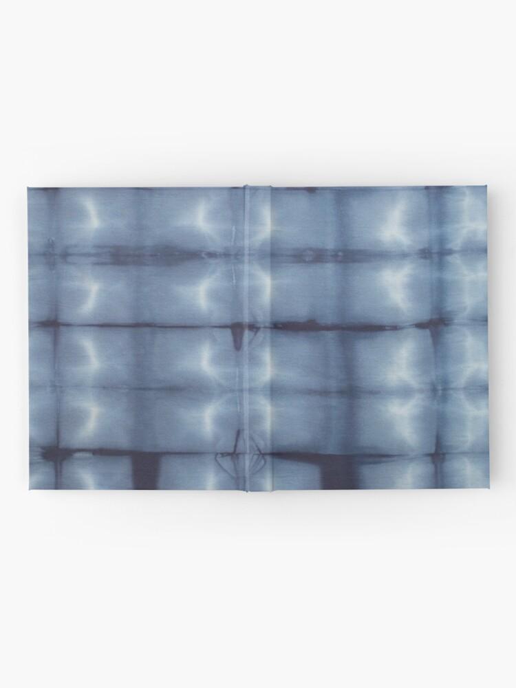 Alternate view of SKU546 Shibori Style - Blue Denim 2 Hardcover Journal