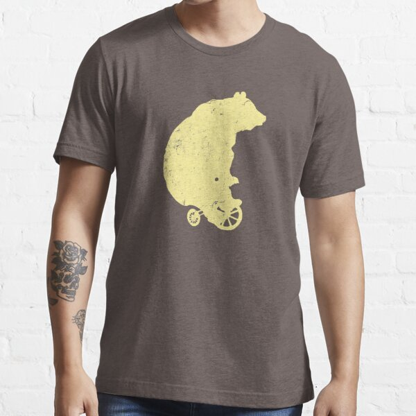 Copy of Bear on Tricycle (Yellow) Essential T-Shirt