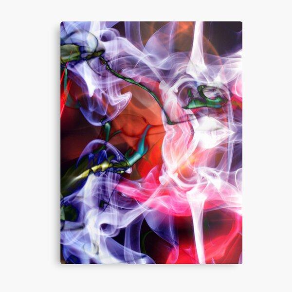 SMOKE DeMENTIA, #3, Edit C - SMOKE ART Metal Print