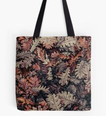 Dried Autumn Leaves - HD Nature Tote Bag