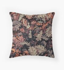 Dried Autumn Leaves - HD Nature Floor Pillow