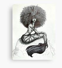 Goddess of the Sea Metal Print