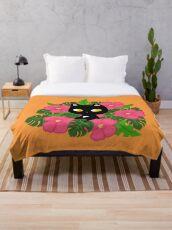 Hawaiian Pepper by Yuuki G Throw Blanket