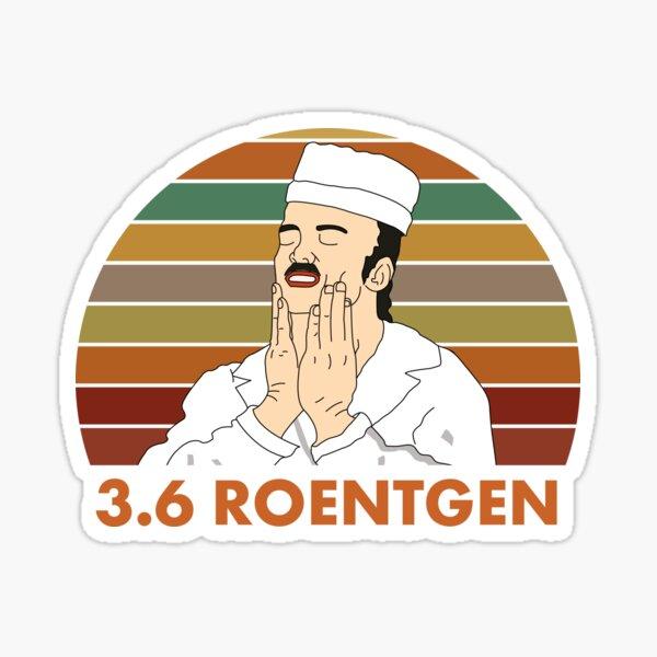 RBMK 3.6 Roentgen Chernobyl Nuclear Reactor Feel Good Meme Sticker