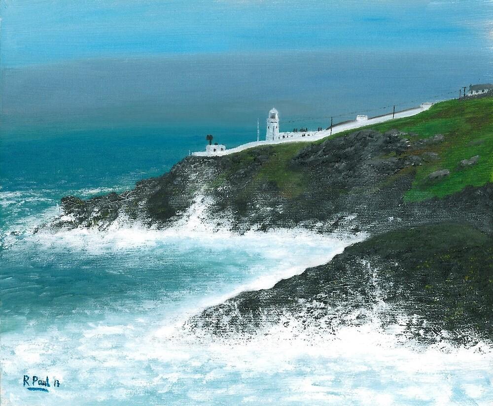 Pendeen Watch Lighthouse by Richard Paul