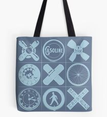 HIP TAC TOE Tote Bag