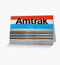 Amtrack Our Track Greeting Card