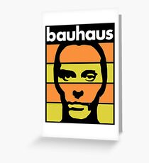 Bauhaus Greeting Card