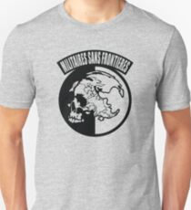 Metal Gear Solid - MSF, Outline Only T-Shirt