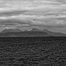 Eigg, Rum, Sea and Sky by Mark Baldwyn