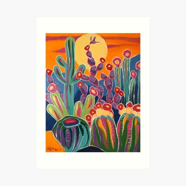 Sweet Sunset Art Print