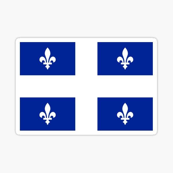 Drapeau du Québec Sticker