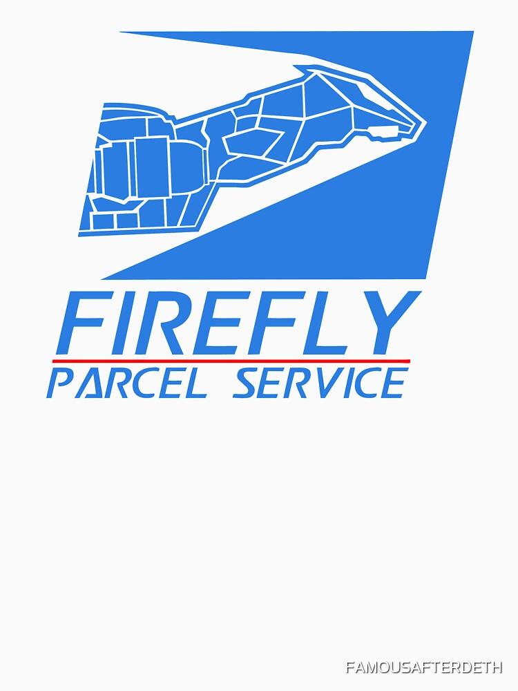TShirtGifter presents: Firefly Parcel Service | Unisex T-Shirt
