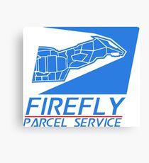 Firefly Parcel Service Canvas Print
