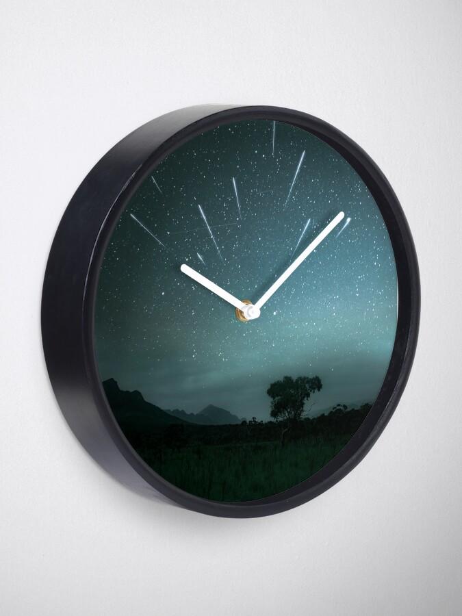 Alternate view of Geminid Meteor Shower - Grampians Clock