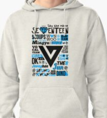 SEVENTEEN Collage Pullover Hoodie