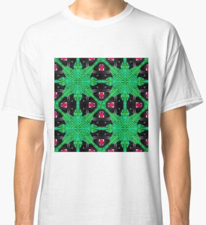 Tropical Black Panther Pattern Classic T-Shirt