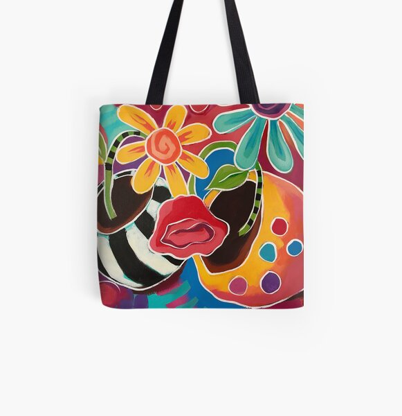 A Good Day All Over Print Tote Bag