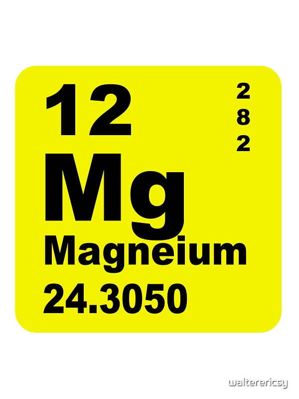 Magnesium periodic table of elements stickers by walterericsy magnesium periodic table of elements by walterericsy urtaz Choice Image