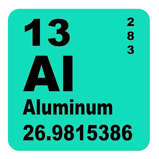 Aluminium periodic table of elements photographic prints by aluminium periodic table of elements by walterericsy urtaz Choice Image