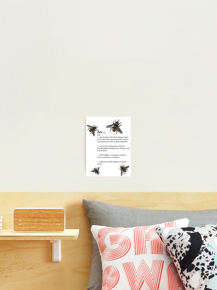 definition of a bee jupiter ascending photographic print by