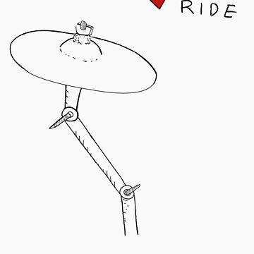I Love Crash Ride by DingleBat