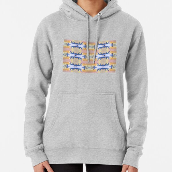 #Illustration, #painting, #water, #art, outdoors, creativity, blur, day,  motion, imagination Pullover Hoodie